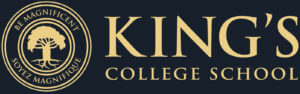 the logo for King's College School a private school serving students in the Caledon, Brampton, Orangeville and Bolton areas